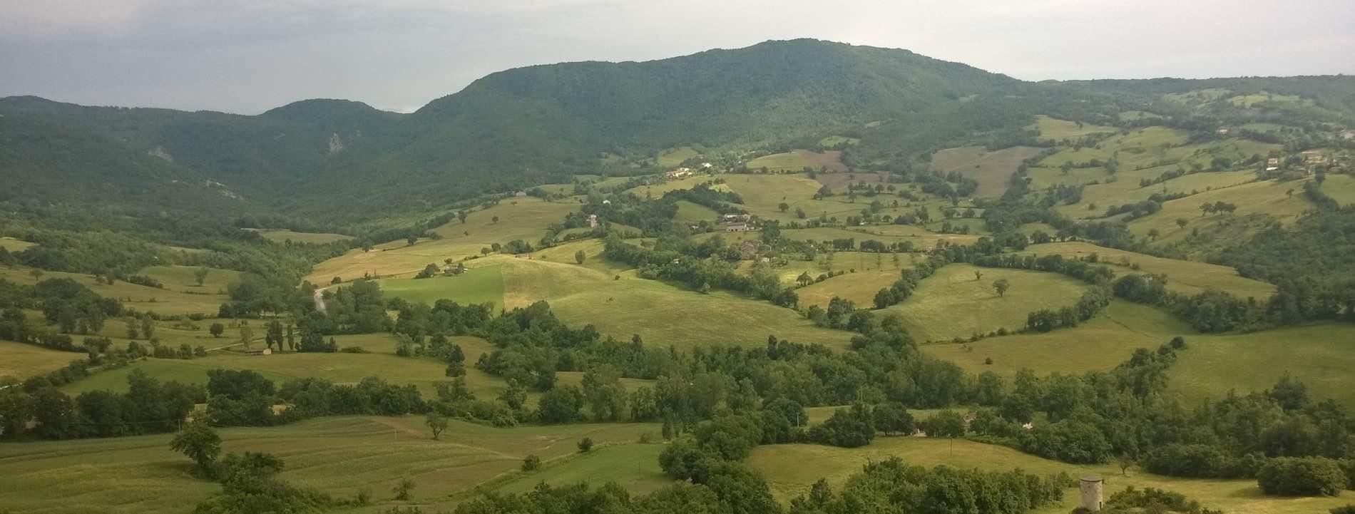 Panoramica di Pennabilli